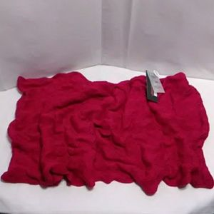 Echo Knit Infinity Scarf Pink